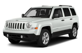 3/4 Front Glamour 2015 Jeep Patriot