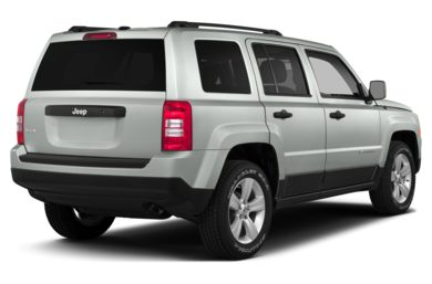 3/4 Rear Glamour  2016 Jeep Patriot