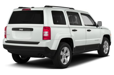 3/4 Rear Glamour  2014 Jeep Patriot