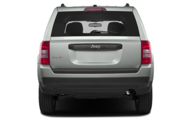 Rear Profile  2013 Jeep Patriot