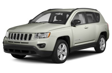 3/4 Front Glamour 2013 Jeep Compass