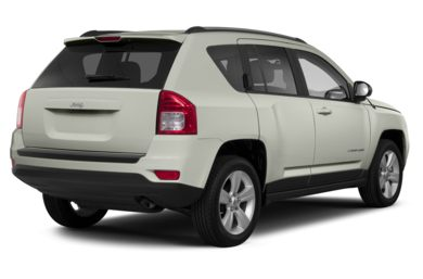 3/4 Rear Glamour  2013 Jeep Compass