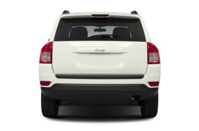 Rear Profile  2013 Jeep Compass