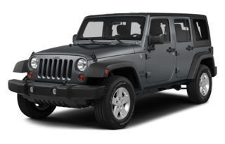 3/4 Front Glamour 2013 Jeep Wrangler Unlimited