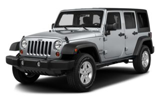 3/4 Front Glamour 2014 Jeep Wrangler Unlimited