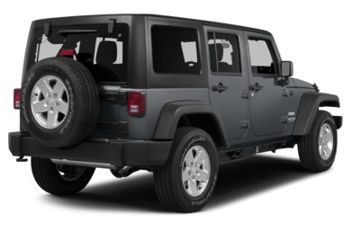 3/4 Rear Glamour  2013 Jeep Wrangler Unlimited