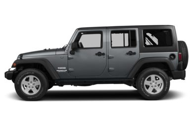 90 Degree Profile 2013 Jeep Wrangler Unlimited