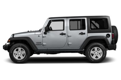 90 Degree Profile 2014 Jeep Wrangler Unlimited