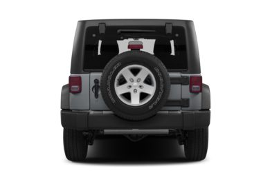 Rear Profile  2013 Jeep Wrangler Unlimited