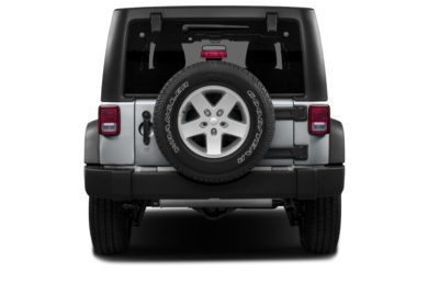 Rear Profile  2014 Jeep Wrangler Unlimited