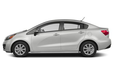 90 Degree Profile 2013 Kia Rio