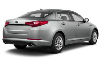 3/4 Rear Glamour  2013 Kia Optima