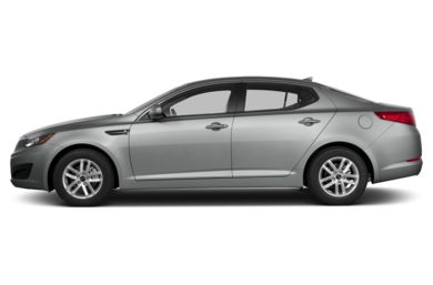 90 Degree Profile 2013 Kia Optima