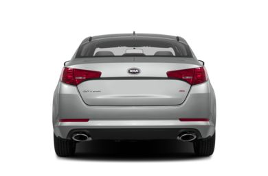 Rear Profile  2013 Kia Optima