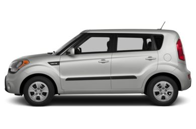 90 Degree Profile 2013 Kia Soul