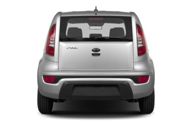 Rear Profile  2013 Kia Soul