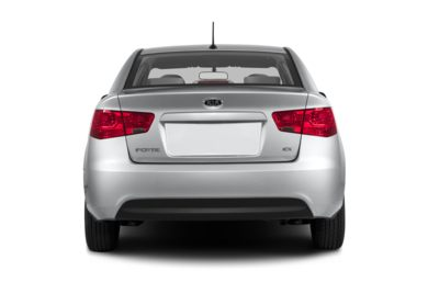 Rear Profile  2013 Kia Forte