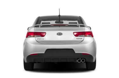 Rear Profile  2013 Kia Forte Koup