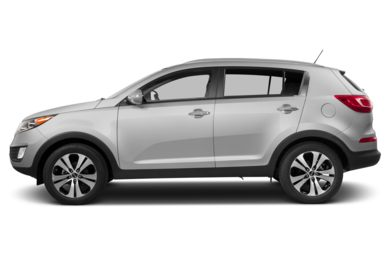 90 Degree Profile 2013 Kia Sportage