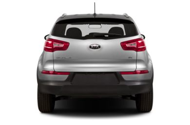 Rear Profile  2013 Kia Sportage