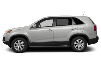 90 Degree Profile 2013 Kia Sorento