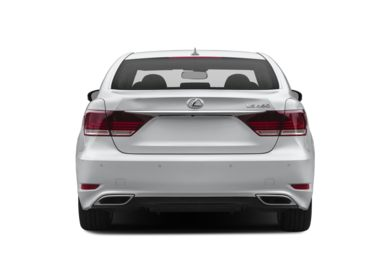 Rear Profile  2017 Lexus LS 460