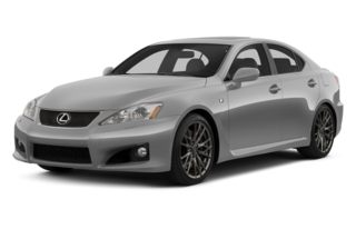 3/4 Front Glamour 2013 Lexus IS-F