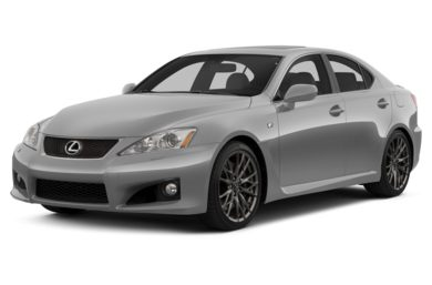 3/4 Front Glamour 2013 Lexus IS F