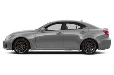 90 Degree Profile 2013 Lexus IS-F
