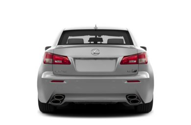 Rear Profile  2013 Lexus IS-F