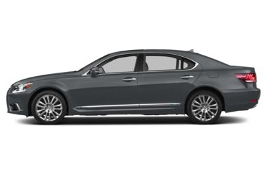 90 Degree Profile 2016 Lexus LS 600h