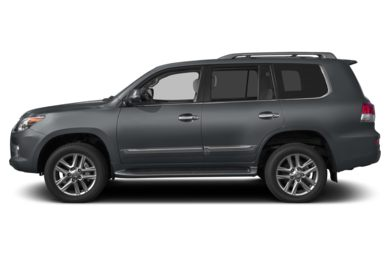 90 Degree Profile 2013 Lexus LX 570