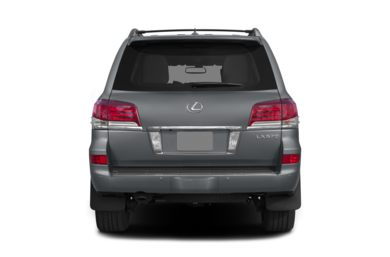 Rear Profile  2013 Lexus LX 570