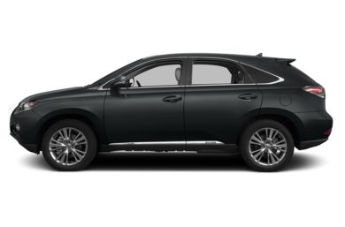 90 Degree Profile 2013 Lexus RX 450h