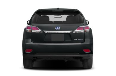 Rear Profile  2013 Lexus RX 450h