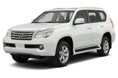 3/4 Front Glamour 2013 Lexus GX 460