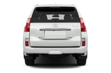 Rear Profile  2013 Lexus GX 460
