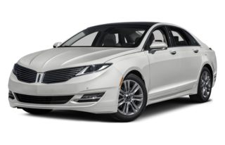 3/4 Front Glamour 2013 Lincoln MKZ