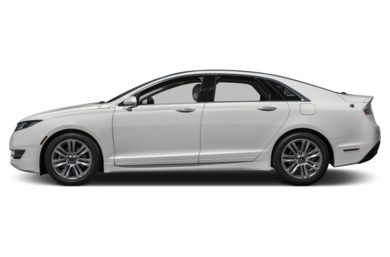 90 Degree Profile 2014 Lincoln MKZ