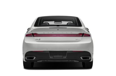 Rear Profile  2014 Lincoln MKZ