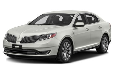 3/4 Front Glamour 2016 Lincoln MKS