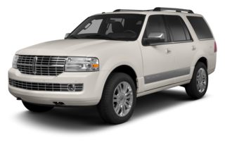 3/4 Front Glamour 2013 Lincoln Navigator