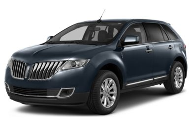 3/4 Front Glamour 2013 Lincoln MKX