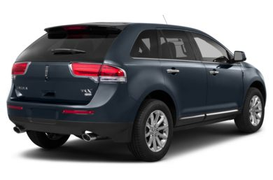 3/4 Rear Glamour  2013 Lincoln MKX