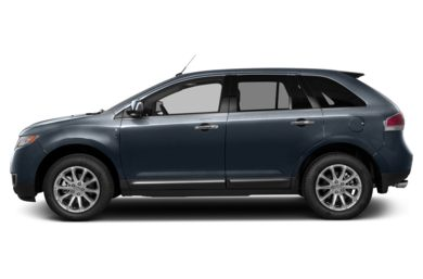 90 Degree Profile 2013 Lincoln MKX