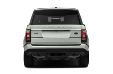 Rear Profile  2017 Land Rover Range Rover
