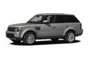 3/4 Front Glamour 2013 Land Rover Range Rover Sport