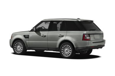 Surround 3/4 Rear - Drivers Side  2013 Land Rover Range Rover Sport