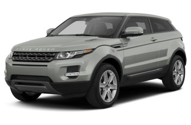 3/4 Front Glamour 2013 Land Rover Range Rover Evoque