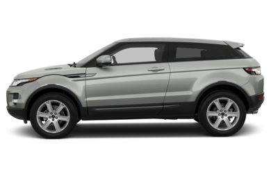 90 Degree Profile 2013 Land Rover Range Rover Evoque